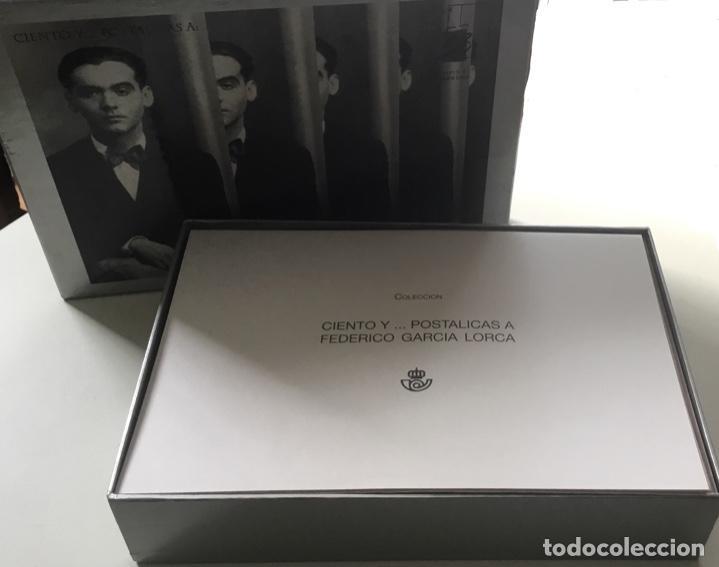 """Sellos: 1998-ESPAÑA Caja """"Cientos de postalicas Federico García Lorca"""" - más de 250 postales - - Foto 3 - 147482198"""