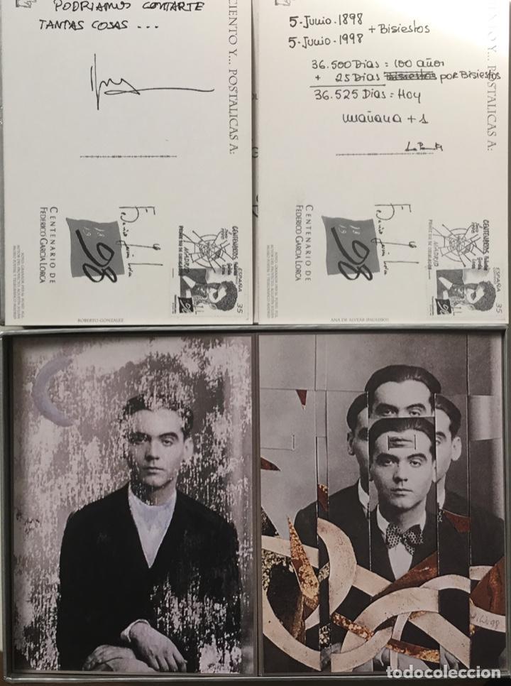 """Sellos: 1998-ESPAÑA Caja """"Cientos de postalicas Federico García Lorca"""" - más de 250 postales - - Foto 7 - 147482198"""