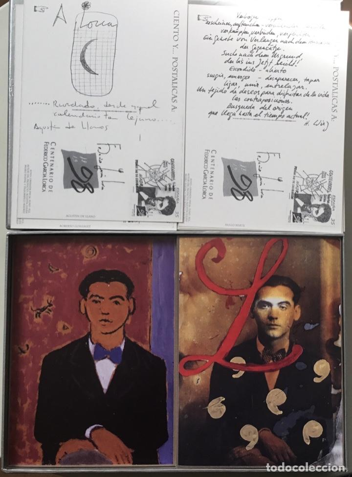 """Sellos: 1998-ESPAÑA Caja """"Cientos de postalicas Federico García Lorca"""" - más de 250 postales - - Foto 8 - 147482198"""