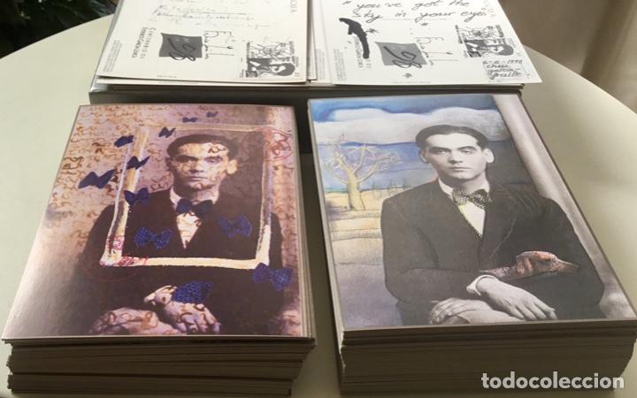 """Sellos: 1998-ESPAÑA Caja """"Cientos de postalicas Federico García Lorca"""" - más de 250 postales - - Foto 9 - 147482198"""