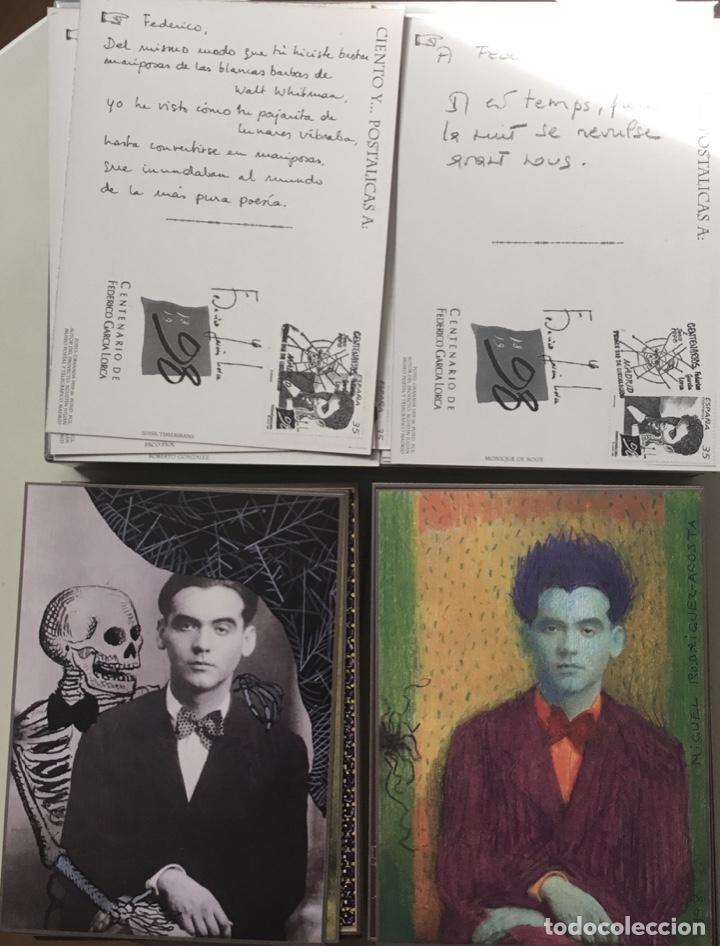 """Sellos: 1998-ESPAÑA Caja """"Cientos de postalicas Federico García Lorca"""" - más de 250 postales - - Foto 10 - 147482198"""