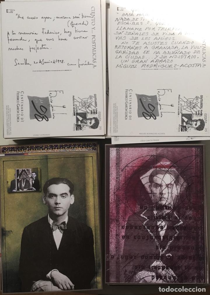 """Sellos: 1998-ESPAÑA Caja """"Cientos de postalicas Federico García Lorca"""" - más de 250 postales - - Foto 11 - 147482198"""
