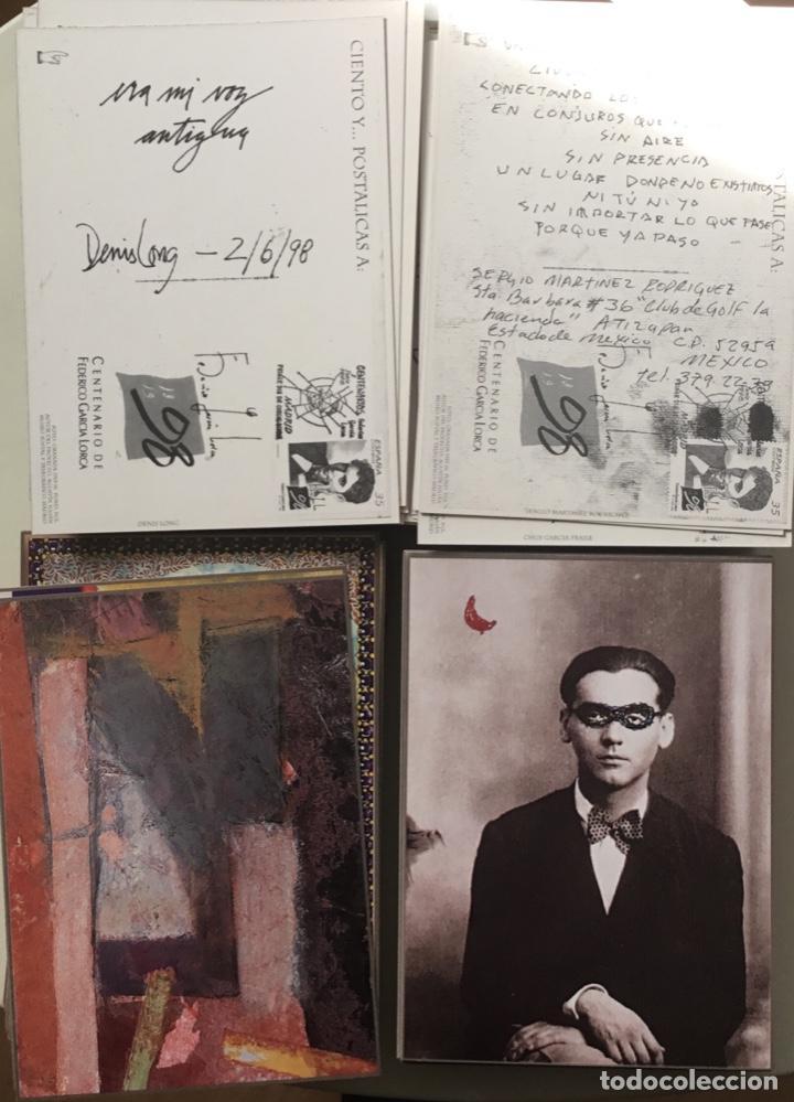 """Sellos: 1998-ESPAÑA Caja """"Cientos de postalicas Federico García Lorca"""" - más de 250 postales - - Foto 12 - 147482198"""