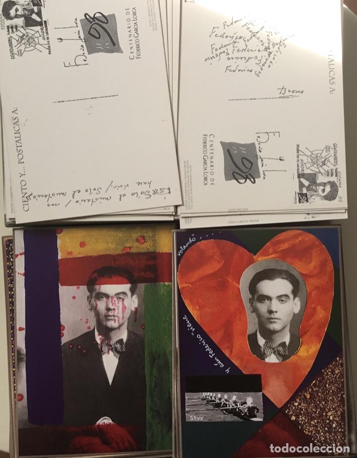 """Sellos: 1998-ESPAÑA Caja """"Cientos de postalicas Federico García Lorca"""" - más de 250 postales - - Foto 13 - 147482198"""