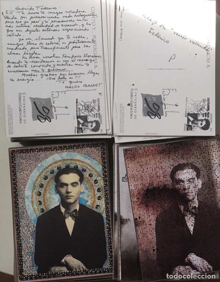 """Sellos: 1998-ESPAÑA Caja """"Cientos de postalicas Federico García Lorca"""" - más de 250 postales - - Foto 14 - 147482198"""