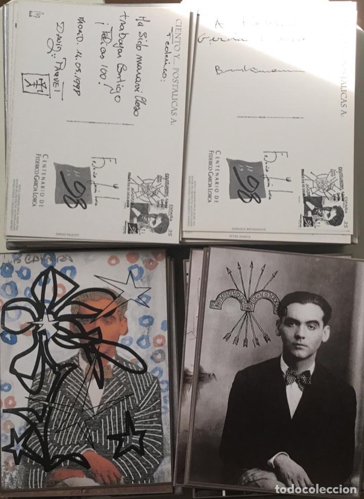"""Sellos: 1998-ESPAÑA Caja """"Cientos de postalicas Federico García Lorca"""" - más de 250 postales - - Foto 15 - 147482198"""