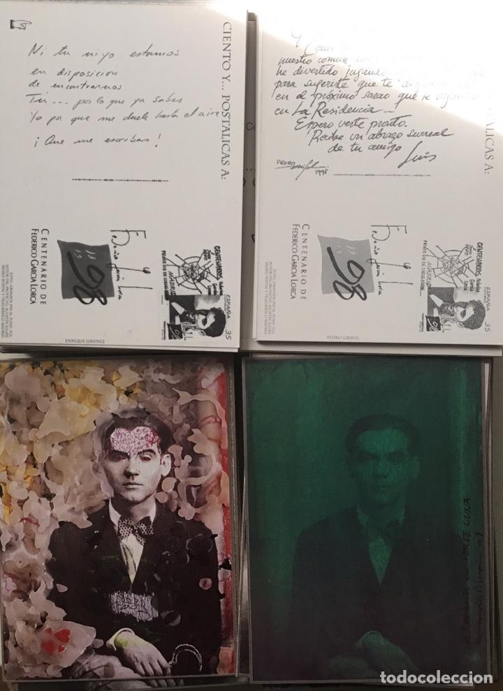 """Sellos: 1998-ESPAÑA Caja """"Cientos de postalicas Federico García Lorca"""" - más de 250 postales - - Foto 17 - 147482198"""