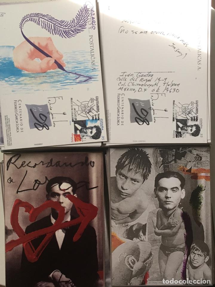 """Sellos: 1998-ESPAÑA Caja """"Cientos de postalicas Federico García Lorca"""" - más de 250 postales - - Foto 19 - 147482198"""
