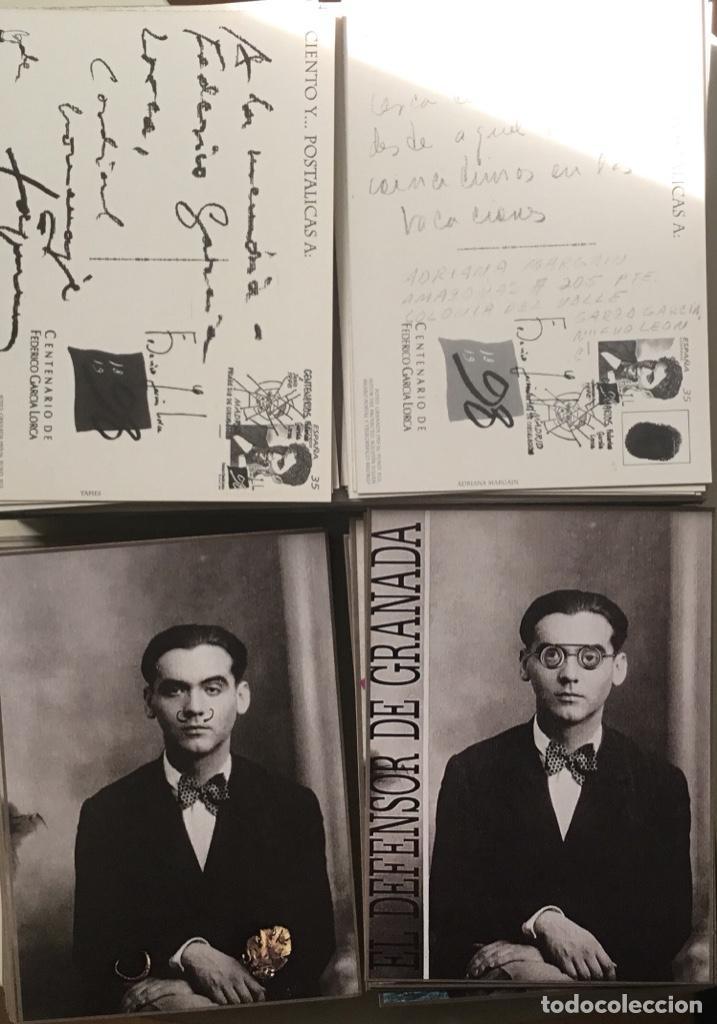 """Sellos: 1998-ESPAÑA Caja """"Cientos de postalicas Federico García Lorca"""" - más de 250 postales - - Foto 20 - 147482198"""