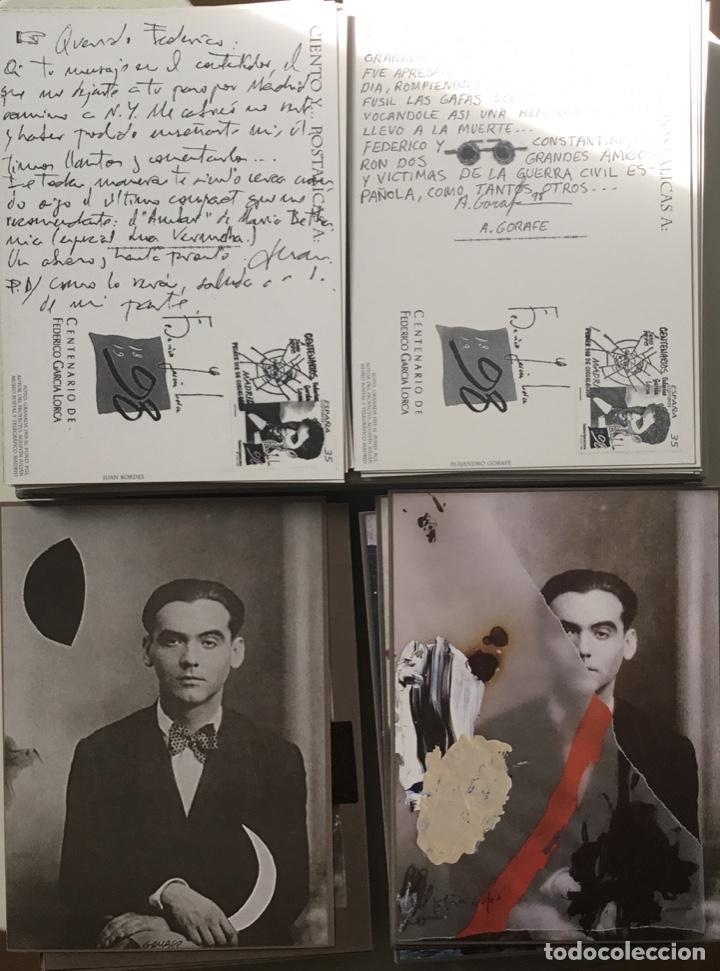 """Sellos: 1998-ESPAÑA Caja """"Cientos de postalicas Federico García Lorca"""" - más de 250 postales - - Foto 21 - 147482198"""