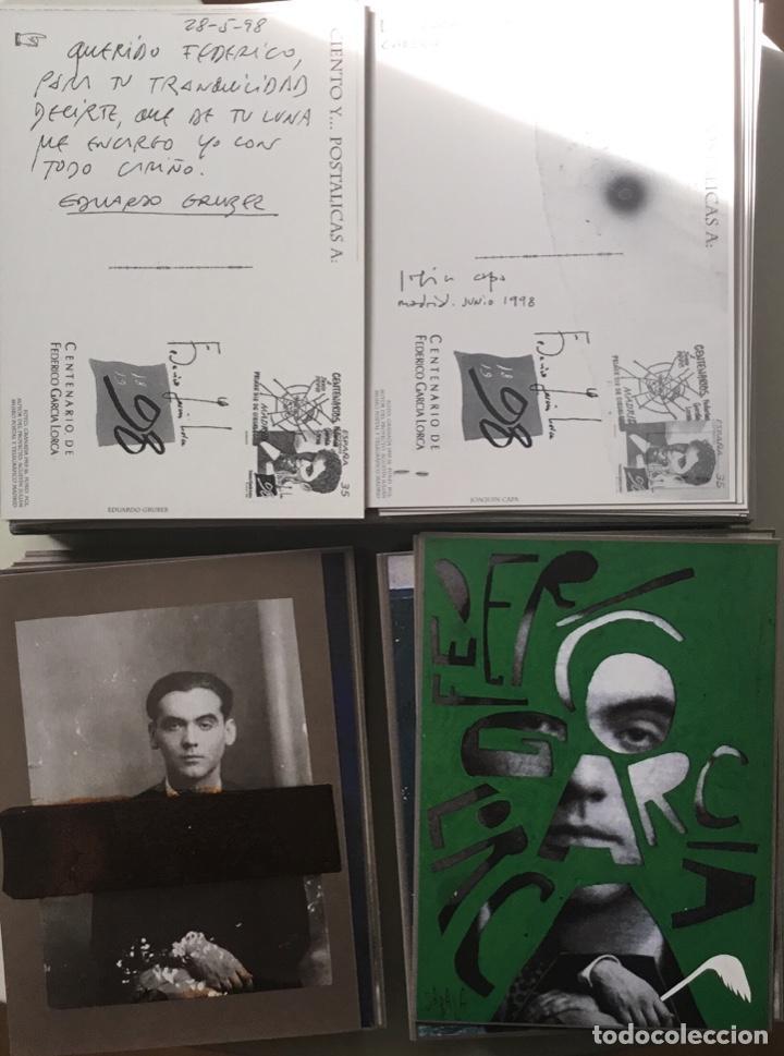 """Sellos: 1998-ESPAÑA Caja """"Cientos de postalicas Federico García Lorca"""" - más de 250 postales - - Foto 22 - 147482198"""