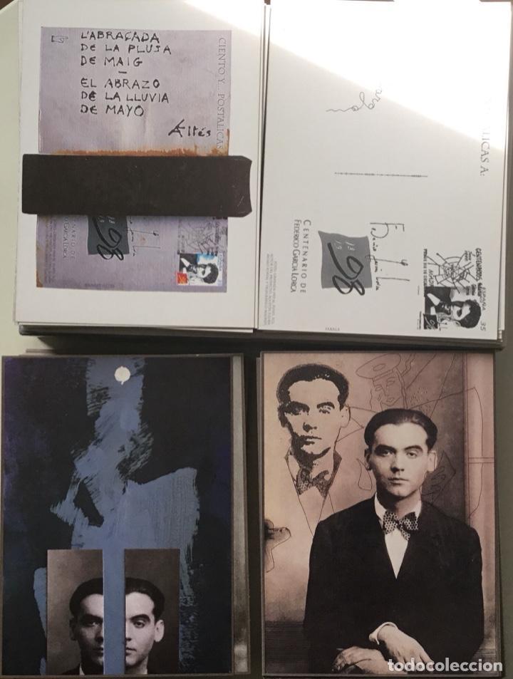 """Sellos: 1998-ESPAÑA Caja """"Cientos de postalicas Federico García Lorca"""" - más de 250 postales - - Foto 23 - 147482198"""