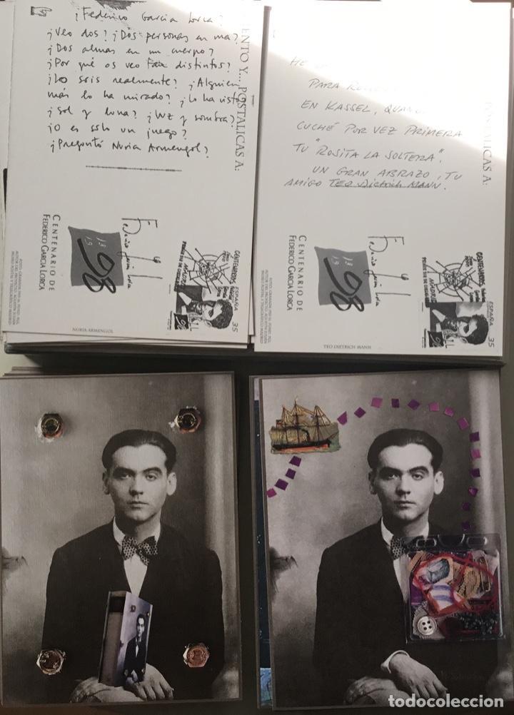 """Sellos: 1998-ESPAÑA Caja """"Cientos de postalicas Federico García Lorca"""" - más de 250 postales - - Foto 24 - 147482198"""