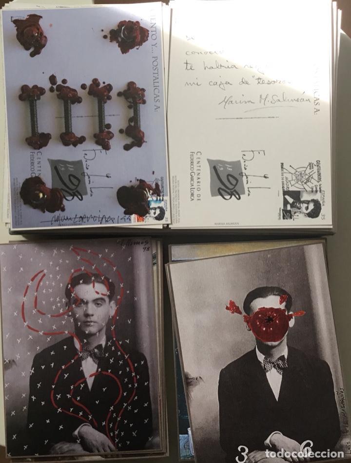 """Sellos: 1998-ESPAÑA Caja """"Cientos de postalicas Federico García Lorca"""" - más de 250 postales - - Foto 25 - 147482198"""