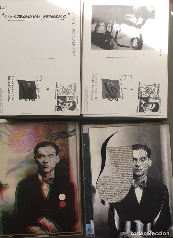 """Sellos: 1998-ESPAÑA Caja """"Cientos de postalicas Federico García Lorca"""" - más de 250 postales - - Foto 26 - 147482198"""