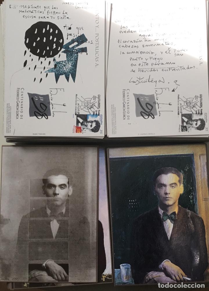 """Sellos: 1998-ESPAÑA Caja """"Cientos de postalicas Federico García Lorca"""" - más de 250 postales - - Foto 27 - 147482198"""
