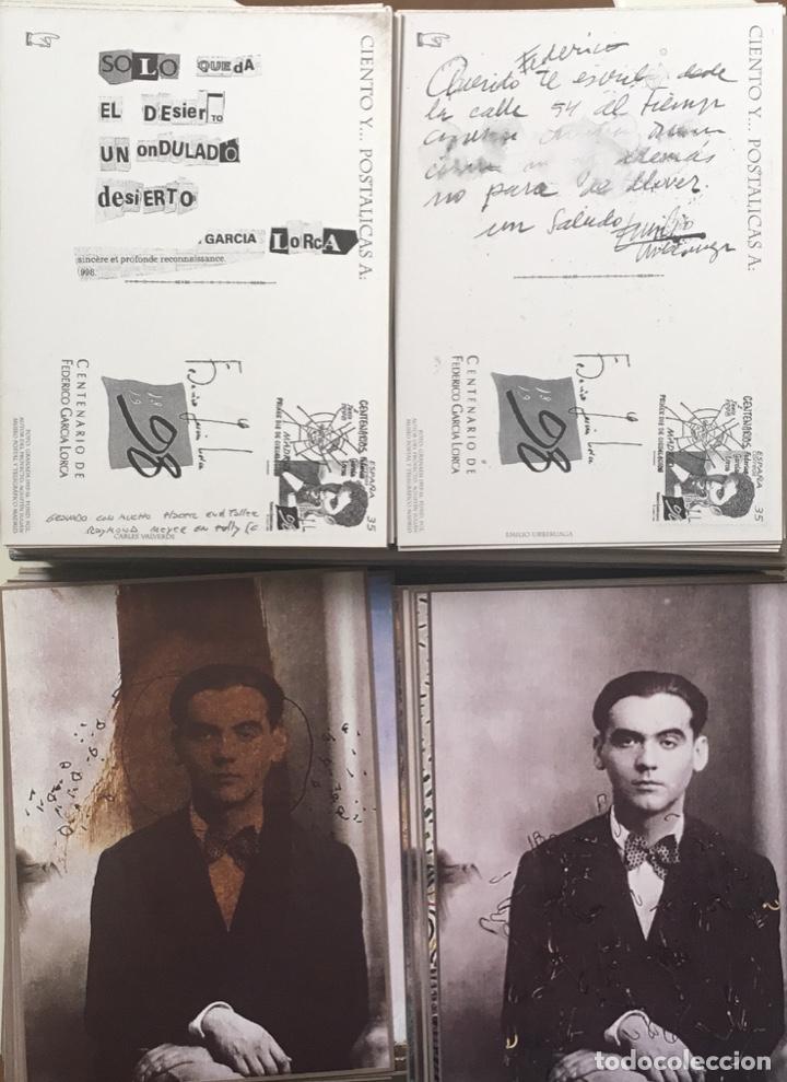 """Sellos: 1998-ESPAÑA Caja """"Cientos de postalicas Federico García Lorca"""" - más de 250 postales - - Foto 28 - 147482198"""