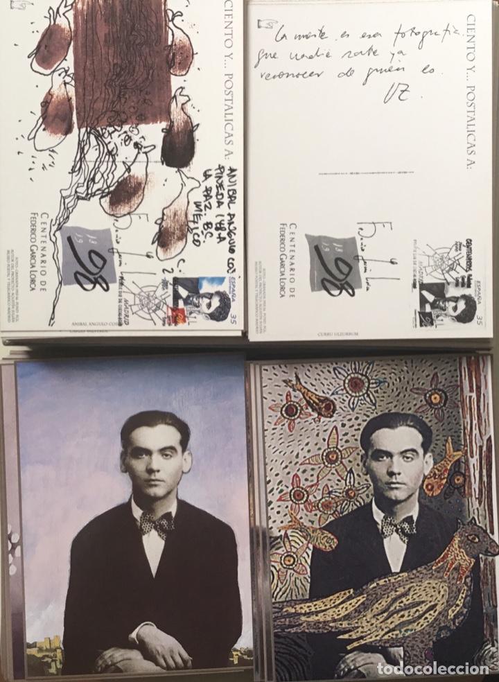 """Sellos: 1998-ESPAÑA Caja """"Cientos de postalicas Federico García Lorca"""" - más de 250 postales - - Foto 29 - 147482198"""