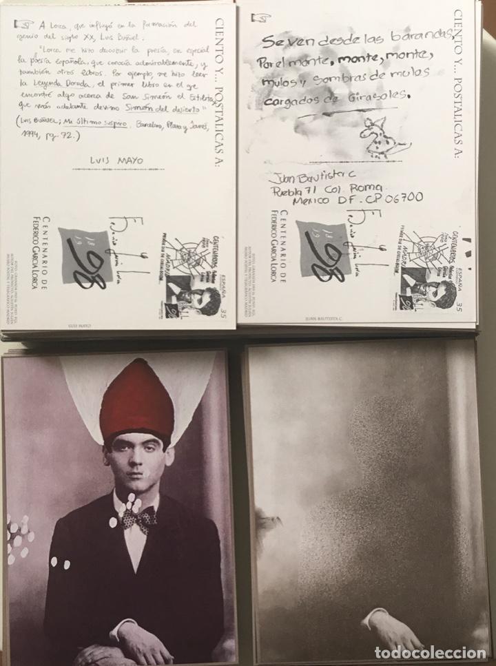 """Sellos: 1998-ESPAÑA Caja """"Cientos de postalicas Federico García Lorca"""" - más de 250 postales - - Foto 30 - 147482198"""