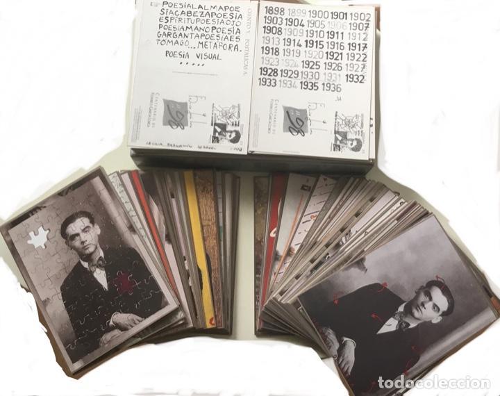 """Sellos: 1998-ESPAÑA Caja """"Cientos de postalicas Federico García Lorca"""" - más de 250 postales - - Foto 31 - 147482198"""