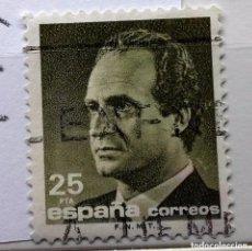 Sellos: ESPAÑA 1990, SELLO SERIE BÁSICA JUAN CARLOS I, 25 PTS USADO . Lote 147523494