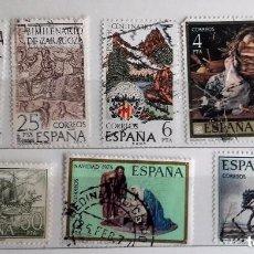 Sellos: ESPAÑA 1976, 8 SELLOS USADOS DIFERENTES . Lote 147527470