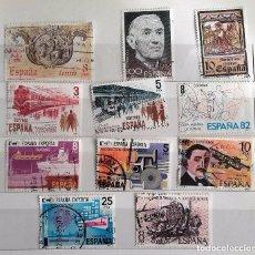 Sellos: ESPAÑA 1980, 11 SELLOS USADOS DIFERENTES . Lote 147529002