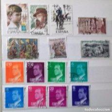 Sellos: ESPAÑA 1977, 15 SELLOS USADOS DIFERENTES . Lote 147529570