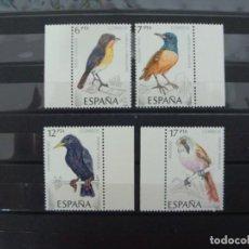 Sellos: ***PAJAROS*** - 1 SERIE (4 VALORES) - EDIFIL 2820-23 - AÑO 1985 - NUEVO-LUJO. Lote 147603786