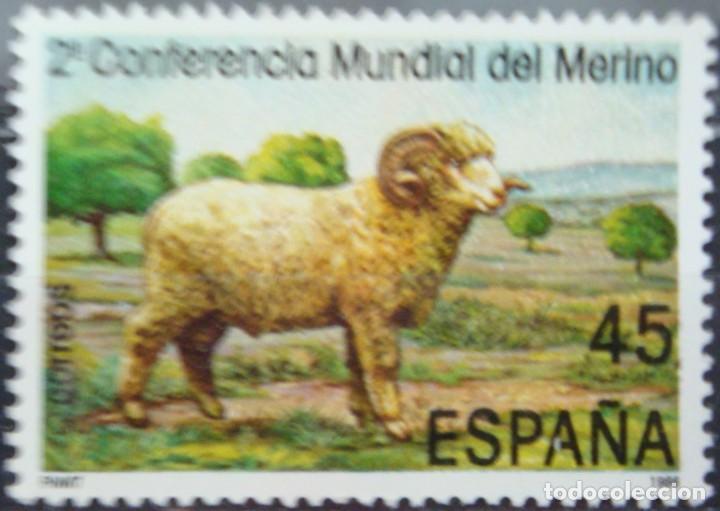 ***II CONFERENCIA MUNDIAL DEL MERINO*** - 1 SELLO (1 VALOR) - EDIFIL 2839 - AÑO 1986 - NUEVO-LUJO (Sellos - España - Juan Carlos I - Desde 1.975 a 1.985 - Nuevos)