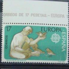 Sellos: ***EUROPA 1986*** - 2 SELLOS (2 VALORES) - EDIFIL 2847-48 - AÑO 1986 - NUEVO-LUJO. Lote 147689866