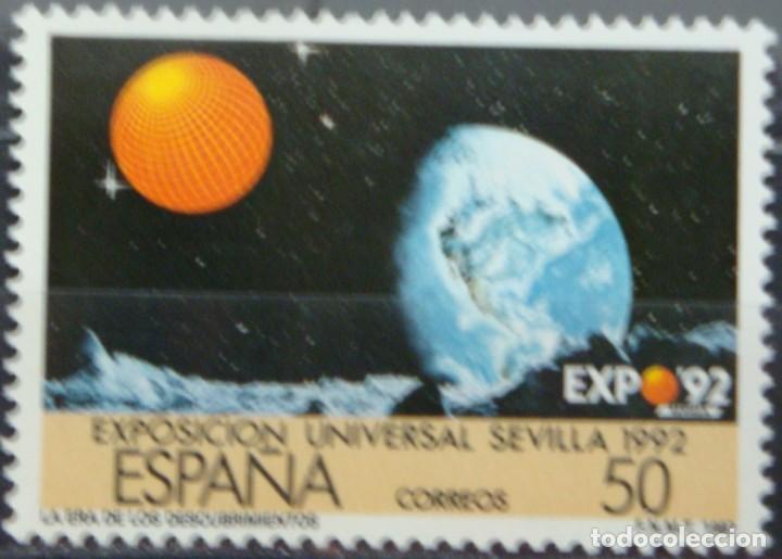 Sellos: ***EXPO´92*** EXPOSICION DE SEVILLA - 2 SELLOS (2 VALORES) - Edifil 2875A-76A- AÑO 1987 - Foto 3 - 147698682