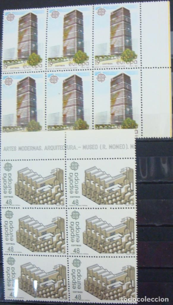 ***EUROPA 1987 - ARTES MODERNOS*** - 2 BLOQUES DE 6 SELLOS (2 VALORES) - EDIFIL 2904-05- AÑO 1987 (Sellos - España - Juan Carlos I - Desde 1.975 a 1.985 - Nuevos)