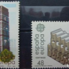 Sellos: ***EUROPA 1987 - ARTES MODERNOS*** - 2 SELLOS (2 VALORES) - EDIFIL 2904-05- AÑO 1987 - NUEVO-LUJO. Lote 147728034