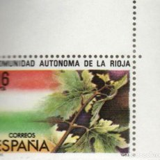 Sellos: ***LA RIOJA-ESTATUTO AUTONOMIA*** - 1 SELLO (1 VALOR) - EDIFIL 2689- AÑO 1983 - NUEVO-LUJO. Lote 147959810