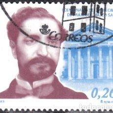 Sellos: 2003 - ESPAÑA - CENTENARIO DE MATEO SAGASTA - EDIFIL 3962. Lote 147970922