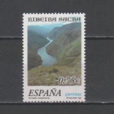 Sellos: R/19229, SERIE NUEVA ** MNH DE ESPAÑA -NATURALEZA-, AÑO 2002, SALE A VALOR FACIAL. Lote 147975474
