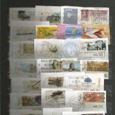 Sellos: ESPAÑA.LOTE DE 80 SELLOS ATMS USADOS DISTINTOS. Lote 148000386