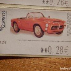 Sellos: SELLO ATM NUEVO - CORREOS - PEGASO Z-102 SS P SPYDER SIERRA PROTOTIPO 1955 - 0,28 EUROS. Lote 148752310