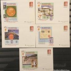 Sellos: 2000-ESPAÑA SOBRES ENTEROS POSTALES VALENCIA´2000 EDIFIL 58 (5 ILUSTRACIONES) VC: 50 €. Lote 177956825