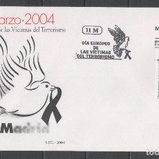 Sellos: R/19261, SOBRE DE PRIMER DÍA DE EMISIÓN DE ESPAÑA -DÍA EUROPEO DE VÍCTIMAS DEL TERRORISMO-. AÑO 2004. Lote 149633190