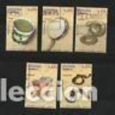 Sellos: ESPAÑA 2013 EN EUROS - INSTRUMENTOS MUSICALES EDIF 4781 A 4785 - USADO . Lote 149666782