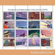 Selos: NUEVO - EDIFIL 4065-4068 MP81 - SPAIN 2004 MNH. Lote 177202625