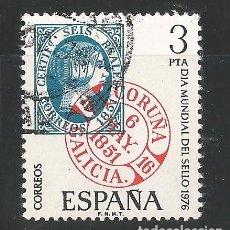 Sellos: ESPAÑA - 1976 - EDIFIL 2318 - DIA MUNDIAL DEL SELLO. Lote 150470702