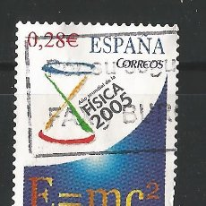 Sellos: ESPAÑA - 2005 - AÑO MUNDIAL DE LA FISICA - EDIFIL 4163. Lote 150476738
