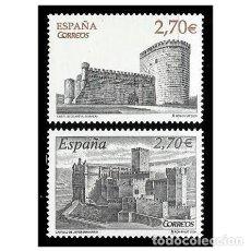 Sellos: ESPAÑA 2009. EDIFIL 4510/11 4511. CASTILLOS. NUEVO** MNH. Lote 150541718