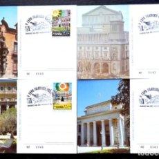 Sellos: FOTO 505 - 4 POSTALES V EXPO. FILATELICA EUROPEA 1992. Lote 150554278