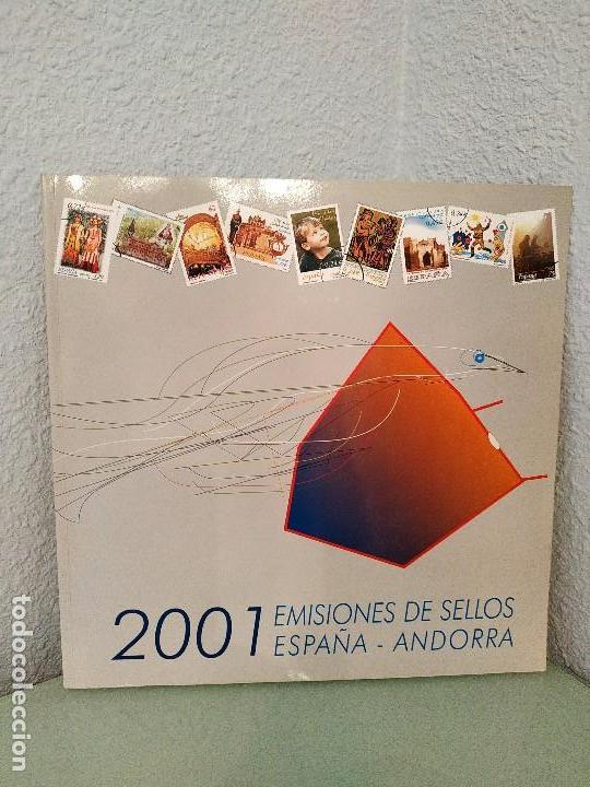 Sellos: Libros oficiales de sellos 2001-2017. España y andorra. - Foto 2 - 150792970