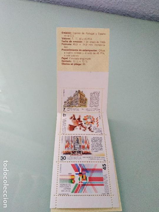 Sellos: Cartera ingreso España y Portugal en la CE - Foto 2 - 150827494
