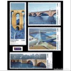 Selos: ESPAÑA 2013. EDIFIL 4803/06 4806. PUENTES DE ESPAÑA. NUEVO** MNH. Lote 150831310
